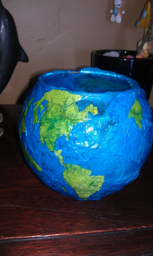 Earth Day lantern